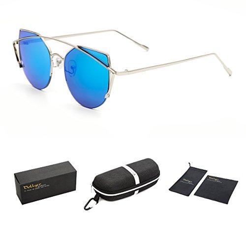dollger-damen-klassiker-katzenauge-twin-beams-metallrahmen-spiegel-sonnenbrilleblau-spiegel-silberra