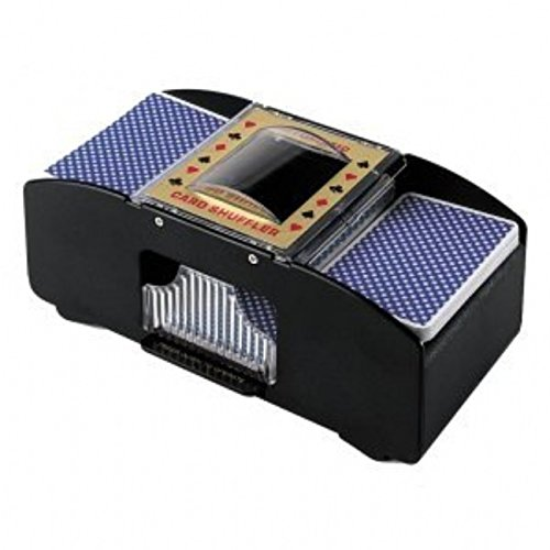 one-touch-automatic-card-shuffler-1-or-2-deck-of-cards-at-the-same-time-battery-operated-new
