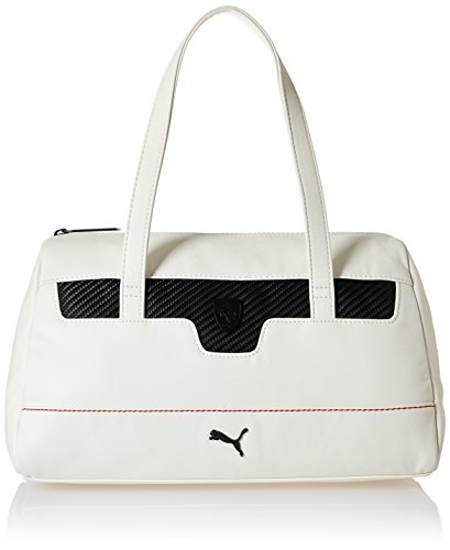 Puma Ferrari LS Handbag - puma white, Größe:OSFA