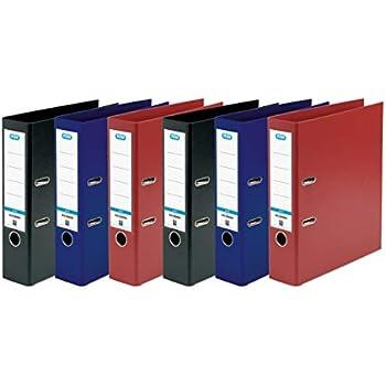 formato A4 colore: nero Confezione da 3 Confezione da 3 raccoglitori a leva Elba
