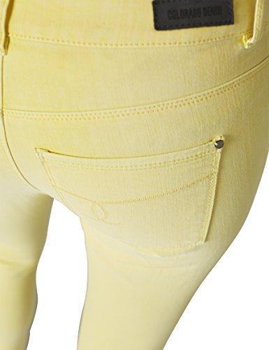 Colorado Denim Damen Slim Jeans (Schmales Bein) Gelb (daffodil 2386)