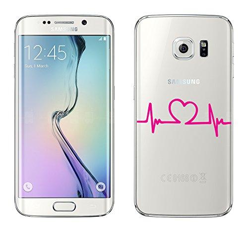 Mobile-edge-schokolade (Samsung Galaxy S6 Edge Hülle von licaso® aus TPU schützt Dein S6 Edge 5,1