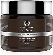 The Man Company Daily Moisturising Cream With Shea Butter And Vitamin E | Hydrates & Rejuvenates | All Ski