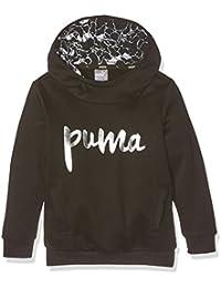 Puma Sudadera Niños Style Hoody FL g, Cotton Black, 152, 83896501