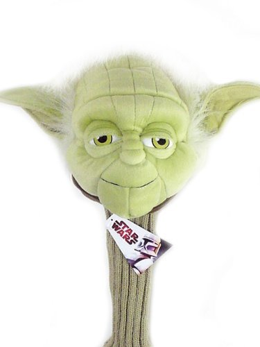 STAR WARS NOVELTY GOLF DRIVER HEADCOVER. YODA -