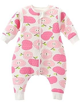 Baby Schlafsack Mit Reißverschluss Beine Getrennt Ärmel abnehmbar 1.5 Tog