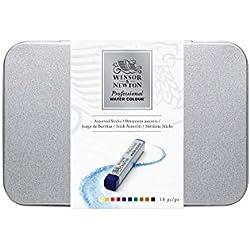Winsor & Newton Water Colour Professional Water - Set de 10 barras de acuarela profesional