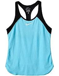 Nike niña oberbekleidung Slam Tank, niña, Slam Tank Girls, azul claro