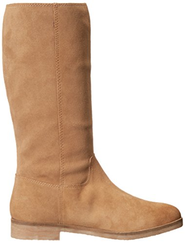 Lucky Brand Grayer Damen Rund Wildleder Mode Mitte Calf Stiefel Honey