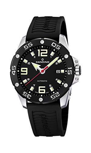 Candino Reloj Analógico para Hombre de Automático con Correa en Caucho  C4453 2 9e930a53cd5