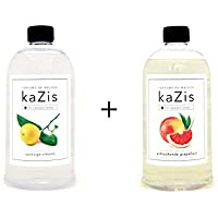 Kazis Duft-Set I Passend für Alle katalytischen Lampen I Zitrone + Grapefruit I 2 x1 Liter I Nachfüll-Öl I 2 x... preisvergleich bei billige-tabletten.eu