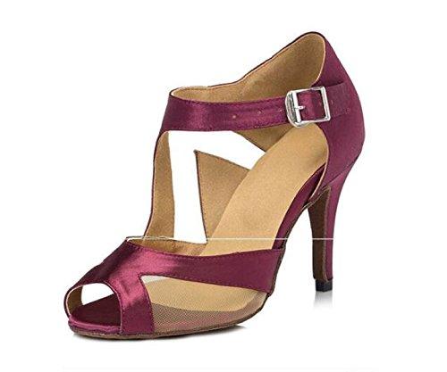 JSHOE Womens Latin Dance Chaussures Salsa / Tango / Chacha / Samba / Moderne / Jazz Danse Sandales Talons Hauts