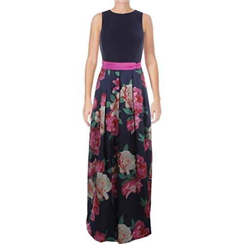 Eliza J Womens Floral Print 2Fer Semi-Formal Dress