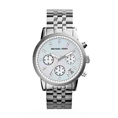 Reloj de mujer Michael Kors MK5020 de cuarzo, correa de acero inoxidable color plata de Michael Kors