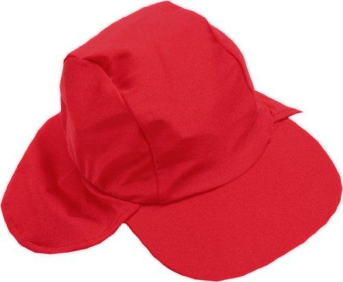 Smiling Shark UV-Hat - Gorra para niños, color rojo, talla M