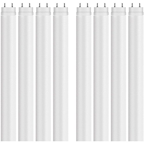 OSRAM LED Leuchtstoffröhre Substitube Value T8 / LED-Röhre in 60cm Länge mit G13-Sockel / Ersetzt 18 Watt / Warmweiß - 3000 Kelvin / 8er-Pack