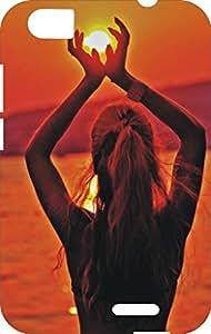 BKDT Marketing Printed back cover for Lava Iris X5