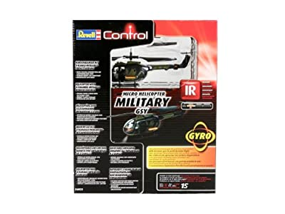 Revell Control Ready-To-Fly Micro Helicopter Military