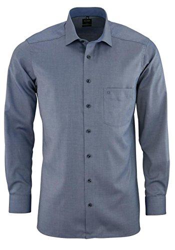 OLYMP OLYMP Herren Hemden Modern Fit Langarm Blau (51) 37