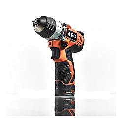 AEG BS 12CI Drill Cordless Electric 12V/1.5self-Holding Spindle