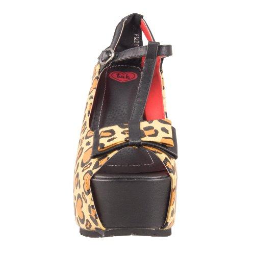 Tuk. Super plat form Heel A8190L leopard Marrone (Marrone)