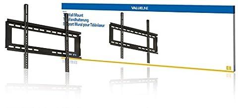 VALUELINE feste TV Wandhalterung Wand Halterung Halter fix 42 44 46 47 50 51 52 53 54 55 56 57 58 59 60 61 62 63 64 65 Zoll für TV LED Plasma LCD Monitor