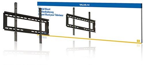 VALUELINE feste TV Wandhalterung Wand Halterung Halter fix 42 44 46 47 50 51 52 53 54 55 56 57 58 59 60 61 62 63 64 65 Zoll für TV LED Plasma LCD Monitor Fernseher