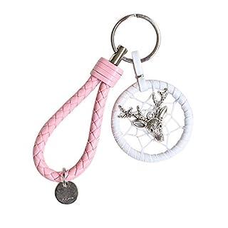 CNRNG Traumfänger DreamcatcherTraumfänger Autozubehör Schlüsselanhänger Tasche Hängende Ornamente Paar Anhänger