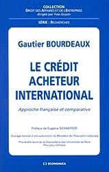 Le crédit acheteur international