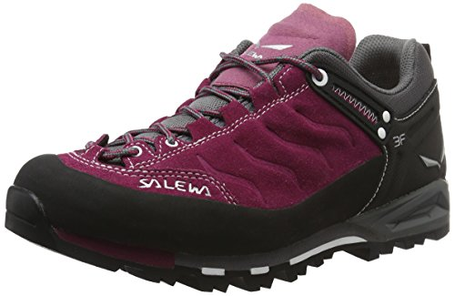 Salewa Ws Mtn Trainer, Chaussures de Randonnée Femme Rouge (Red Onion/quiet Shade 1668)