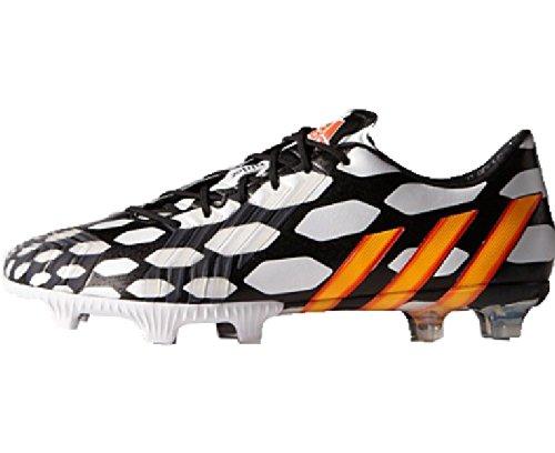 adidas World Cup Predator LZ FG Scarpa da Calcio Uomo Schwarz (Core Black/Solar Gold/White)