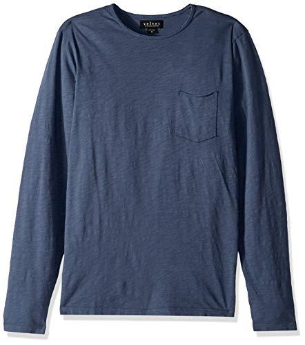 Velvet by Graham & Spencer Herren Men's Simeon LS Pocket Tee T-Shirt, Aztec, Mittel - Aztec-herren Shirt