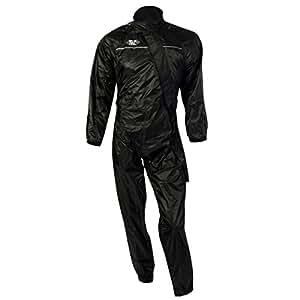 Oxford Products Rain Seal Suit Black Size L