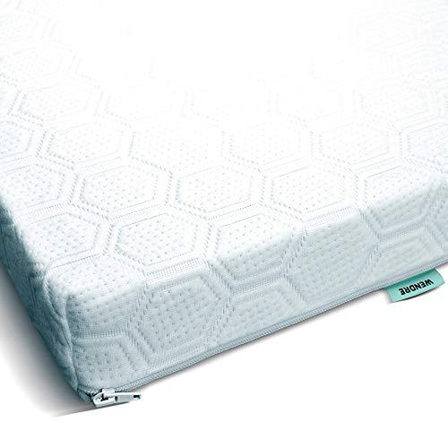 Wendre Matratzenauflage & Topper 120x200 Langlebig, Zertifiziert & Pflegeleicht | Komfortabler 7cm Matratzentopper aus Kaltschaum für eine weiche, Feste und entlastende Unterstützung