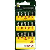 Bosch 2607019453 Coffret d'embouts pour Visseuse 16 pièces