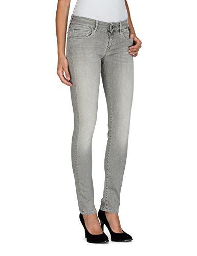 REPLAY Rose, Jeans Slim Donna Grigio (Light Grey 11)