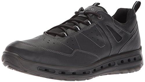 Ecco Cool Walk, Chaussures de Randonnée Basses Homme, Noir (Black), 46 EU