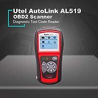 AutoLink AL519 Escáner Lector de coche DTC Escáner OBDII Código de herramienta de diagnóstico automático (