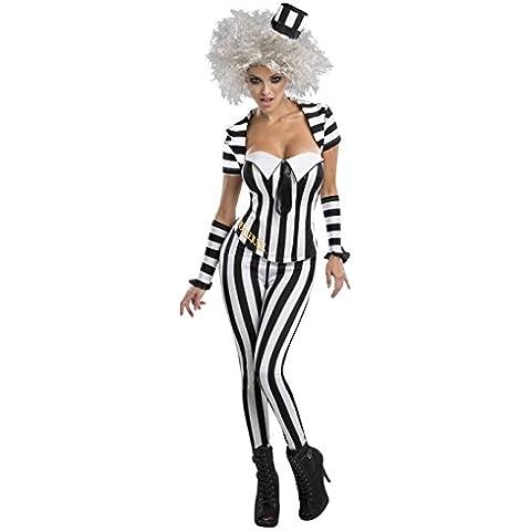 Beetlejuice Trouser Suit- Adult Ladies Costume M