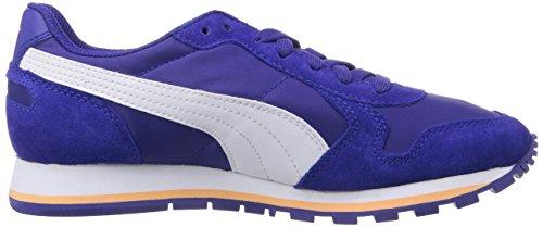 Puma Unisex-Erwachsene St Runner NL Low-Top Blau (clematis blue-white-Peach Cobler 11)