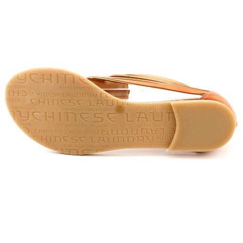 Chinese Laundry  Great Fun, Sandales pour femme Marron Naturel Natural