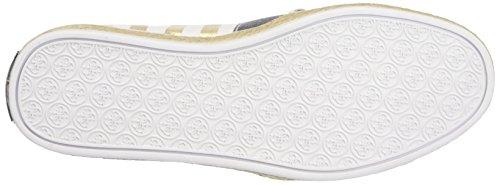 Guess Fabric Active Scarpe Low-Top, Donna Multicolore (oro/bianco)