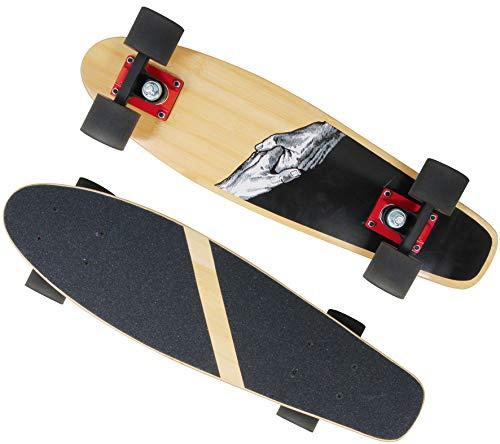 Bada Bing Vedes Kinder Skateboard Kinderskateboard Ca. 55 cm Kugellager ABEC 7 Ab 5 Jahre Für Jungs und Mädchen Trend Sport 02