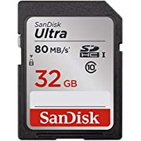 SanDisk Ultra 32GB Class 10 UHS-I SDHC Memory Card (SDSDUNC-032G-GN6IN)