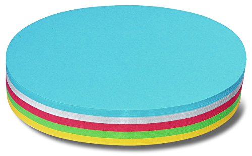 Nobo Moderationskarte Oval 250 Stück Farblich Sortiert (190x110mm)