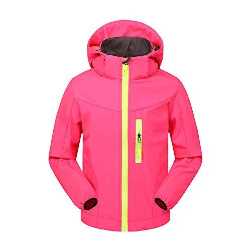 Kind Softshell Jacken Europa und Amerika Im Freien Skifahren Sport Fleece Warm Bleiben Bergsteigen-Anzug ()