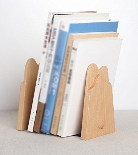 JIN PING Beautiful Homes® Soporte de libro, libros de estudio de simplicidad creativa paradas libros libros de oficina soporte adornos registros naturales