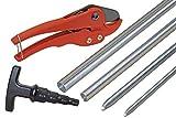 6-teiliges Werkzeug-Komplettset für Alu-Verbundrohr 16 x 2 und 20 x 2 mm