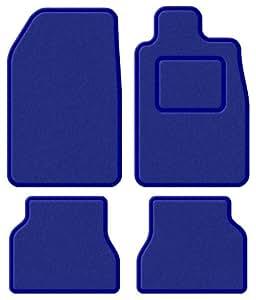 FORD STREET KA 03Super en velours bleu/bleu tapis de sol de voiture