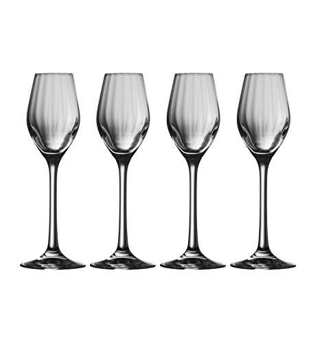 Galway Crystal Erne-Sherry-Gläser (Set von 4), transparent, 4Stück Sherry Glas
